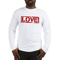 Love Stamp Long Sleeve T-Shirt