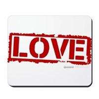 Love Stamp Mousepad