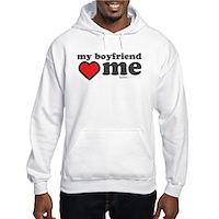 My Boyfriend Loves Me Hooded Sweatshirt