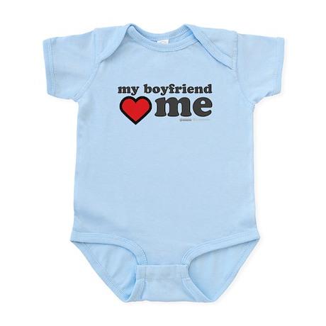 My Boyfriend Loves Me Infant Bodysuit