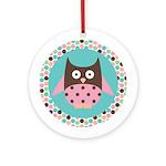 Owl Lover Gift Ornament