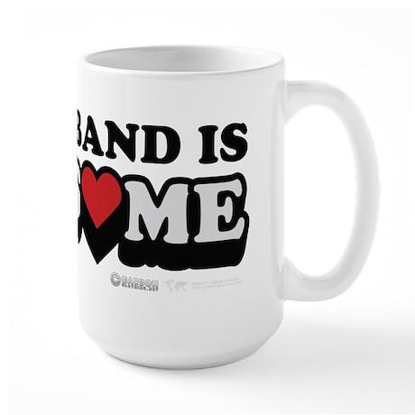My Husband Is Awesome Large Mug