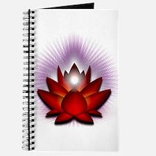 """Red """"Root"""" Chakra Lotus Journal"""