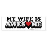 Be my valentine Bumper Stickers