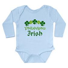 Philadelphia Irish Long Sleeve Infant Bodysuit