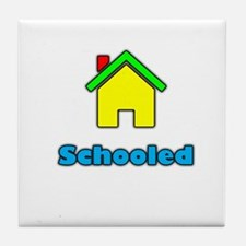 Homeschooled Tile Coaster