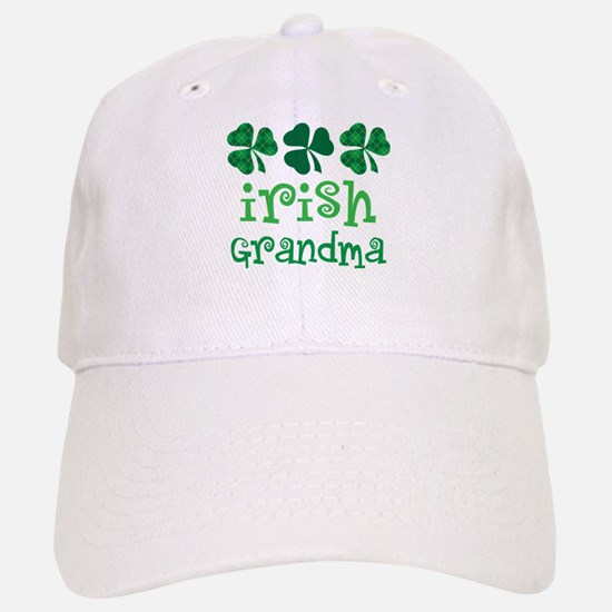 Irish Grandma Shamrock Baseball Baseball Cap