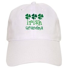 Irish Grandma Shamrock Baseball Cap