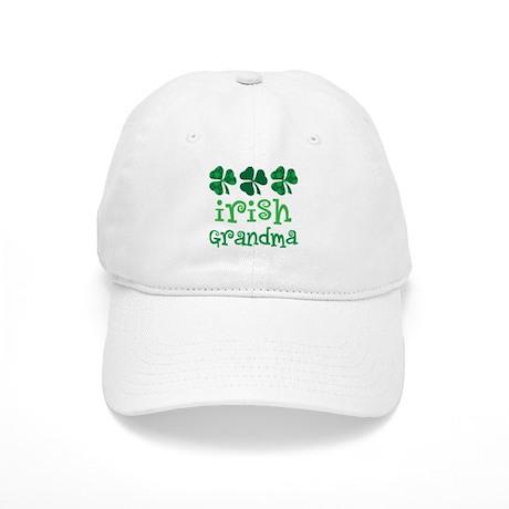 Irish Grandma Shamrock Cap