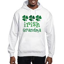 Irish Grandma Shamrock Hoodie