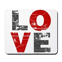 Vintage Love Mousepad