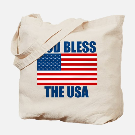 God Bless the USA Tote Bag