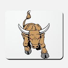 Horned Bull Mousepad