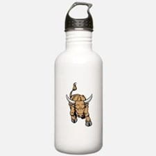 Horned Bull Water Bottle