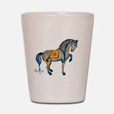 Tang Horse Two Shot Glass