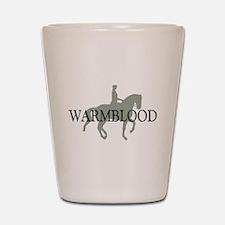 Piaffe Warmblood Shot Glass