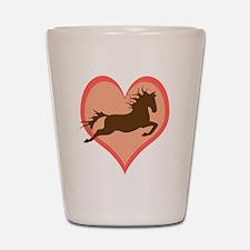 Horse In My Heart Shot Glass