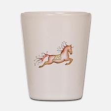 Capriole Horse Shot Glass