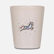 Starry Sky Horse Shot Glass
