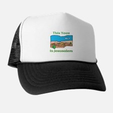 Israel This Year in Jerusalem Trucker Hat