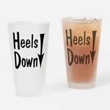 Heels Down! Arrow Drinking Glass