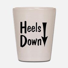 Heels Down! Arrow Shot Glass