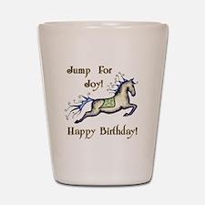 Happy Birthday! Horse Shot Glass