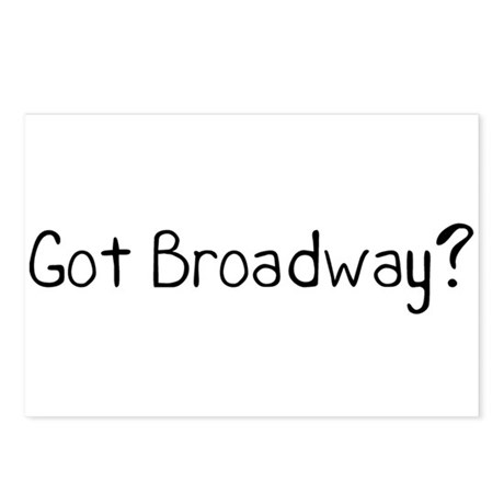 Got Broadway? Postcards (Package of 8)