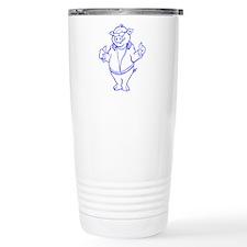 Cartoon Pig Travel Mug