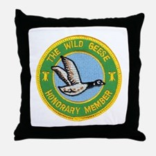 Honorary Wild Geese Throw Pillow