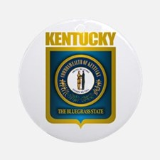 """Kentucky Gold"" Ornament (Round)"