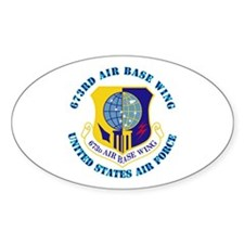 673rd Air Base Wing with Text Decal