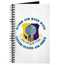673rd Air Base Wing with Text Journal