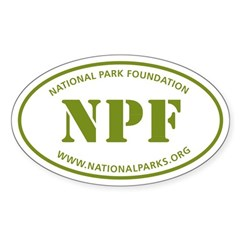 NPF Sticker (Oval)