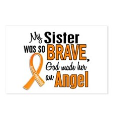 Sister Leukemia Shirts and Apparel Postcards (Pack