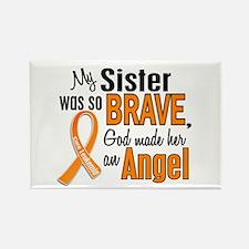 Sister Leukemia Shirts and Apparel Rectangle Magne