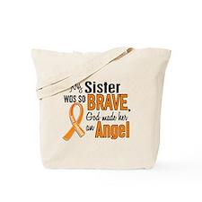 Sister Leukemia Shirts and Apparel Tote Bag