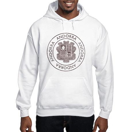 Vintage Andorra Hooded Sweatshirt