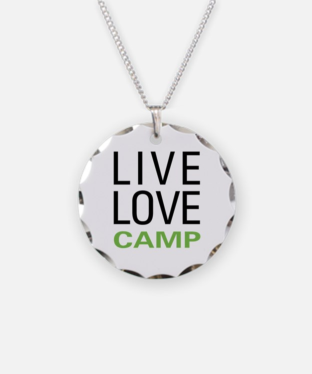 Live Love Camp Necklace