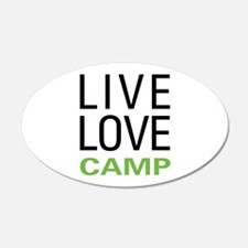 Live Love Camp Wall Decal