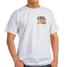 Niece Leukemia Shirts and Apparel T-Shirt