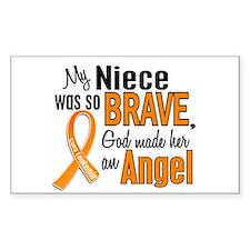 Niece Leukemia Shirts and Apparel Decal