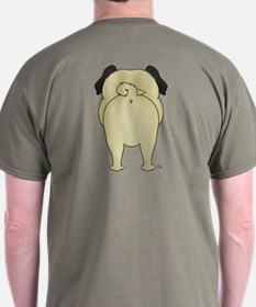 Big Nose Pug T-Shirt