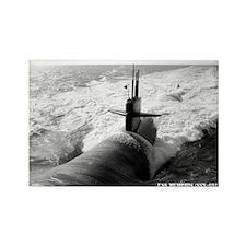 USS MEMPHIS Rectangle Magnet