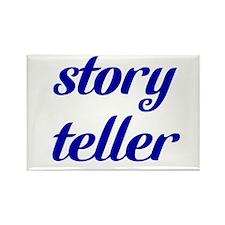 Story Teller Rectangle Magnet