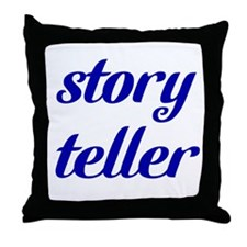 Story Teller Throw Pillow