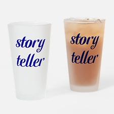 Story Teller Drinking Glass