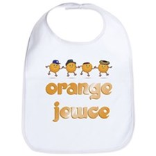 Jewish Orange Jewce Dancing Bib