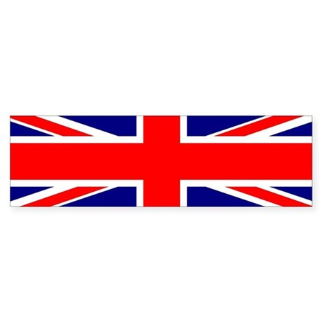 British Flag / Union Jack Bumper Sticker