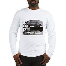 Custom Personalized Cop Long Sleeve T-Shirt